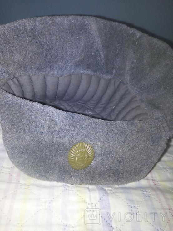 Солдадцкая шапка ушанка, фото №6