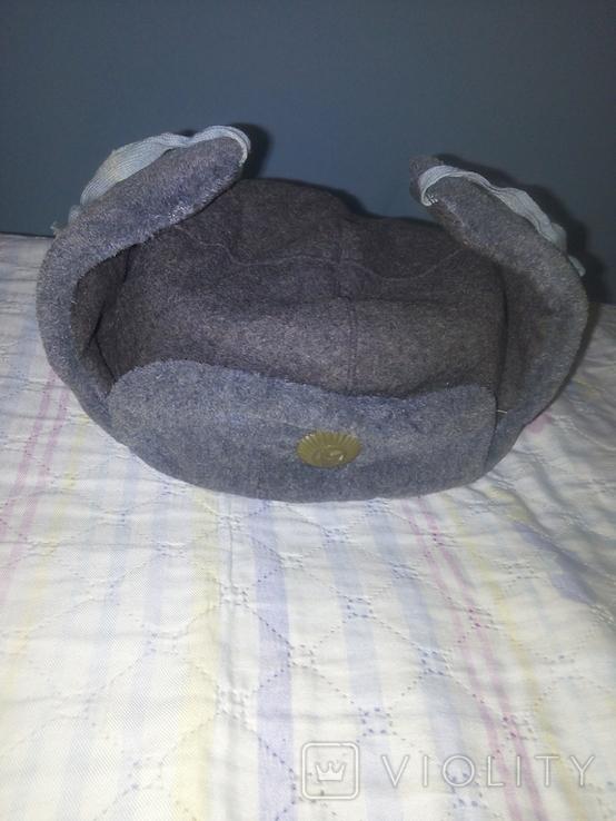 Солдадцкая шапка ушанка, фото №2