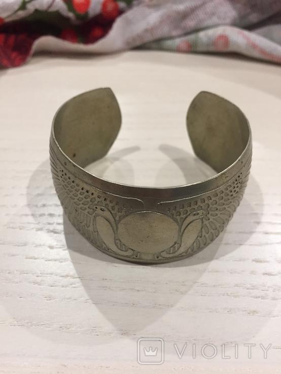 Мельхиоровой браслет, фото №2