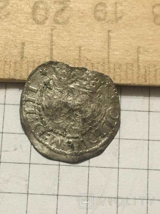 Шеляг литовскій - Сигизмунд 3 Ваза 1618р., фото №4