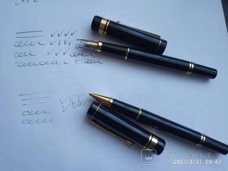 Ручки Iridium point Germany перьевая и шариковая, фото №3