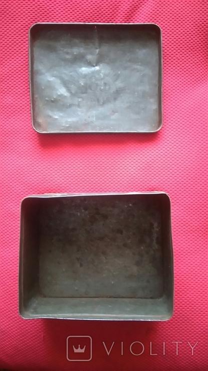 Жестяная коробка из под кофе 50-60 года Польша., фото №4