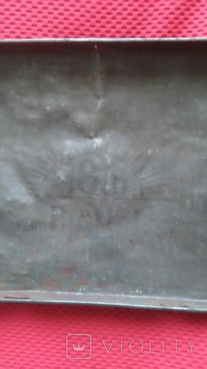 Жестяная коробка из под кофе 50-60 года Польша., фото №5