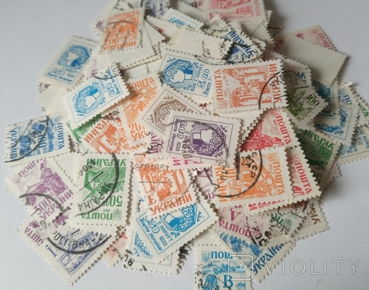 Марки Великобритании 1910-1930 (80шт) Много разновидностей, фото №2