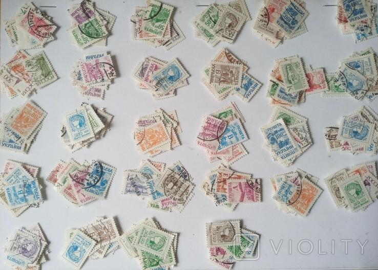 Марки Великобритании 1910-1930 (80шт) Много разновидностей, фото №4