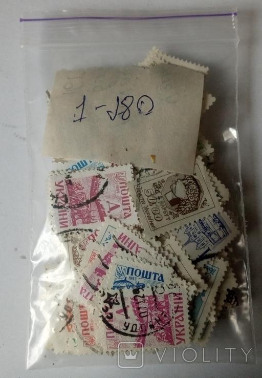 Марки Великобритании 1910-1930 (80шт) Много разновидностей, фото №5