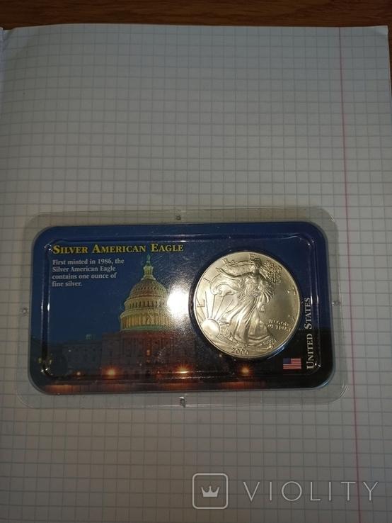 США 1 доллар, 2000, фото №2