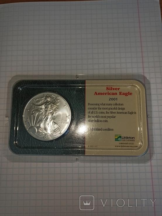 США 1 доллар, 2001, фото №2