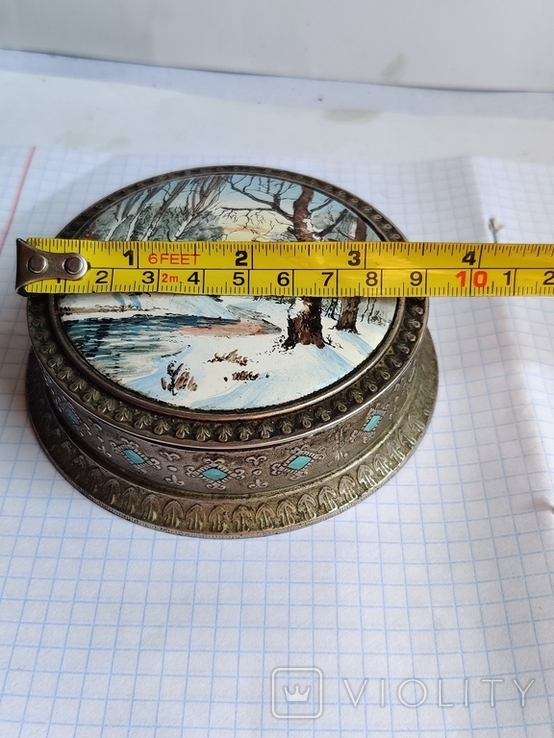 Шкатулка металл, фото №4