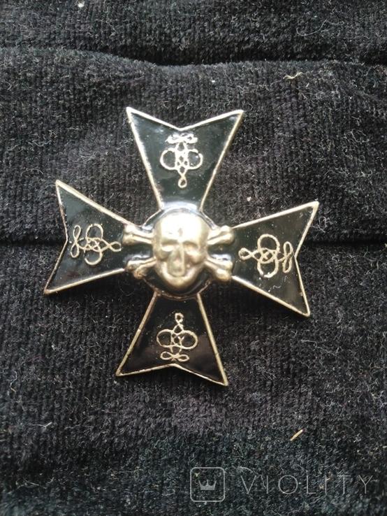 Полковой знак 5-ого александрийского гусарского полка, копия, фото №2