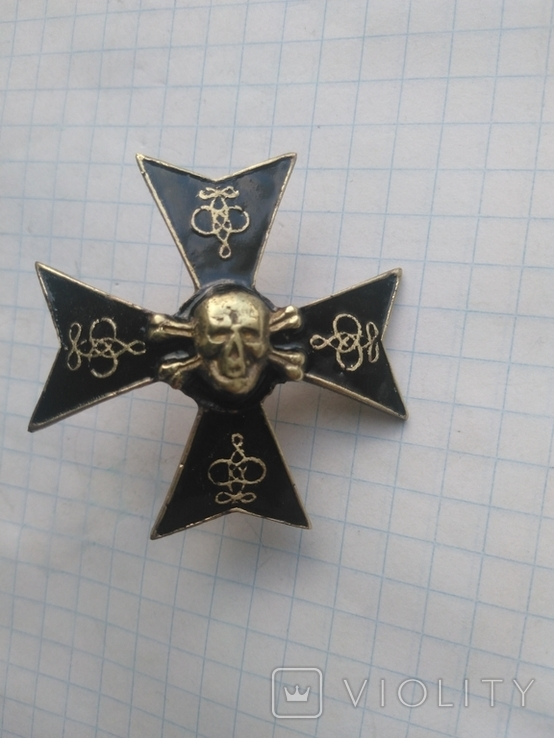 Полковой знак 5-ого александрийского гусарского полка, копия, фото №4