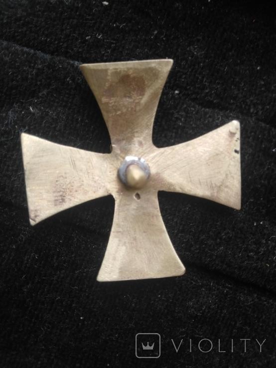 Знак член гвардейского экипажа Николай 2-ой, копия, фото №3