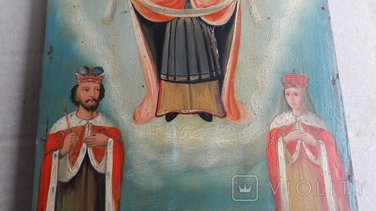 Икона . Покрова . Святая Богородица., фото №4