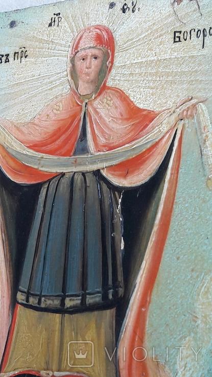 Икона . Покрова . Святая Богородица., фото №6