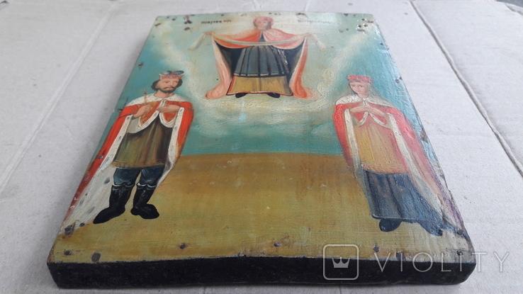 Икона . Покрова . Святая Богородица., фото №11