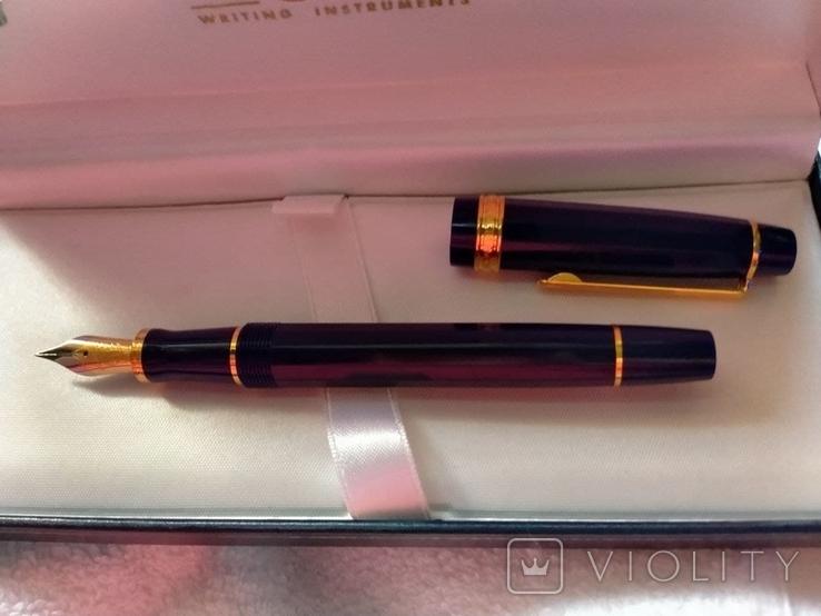 Ручка перьевая Inoxcrom, золото 23, 6 карата, фото №3