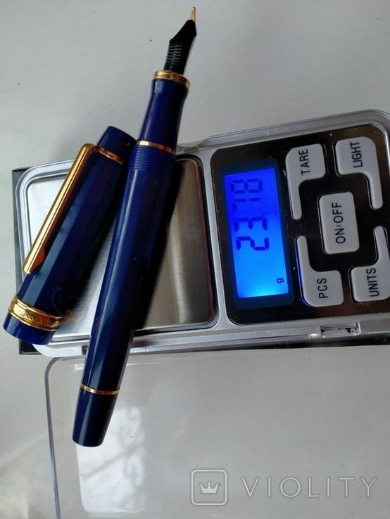 Ручка перьевая Inoxcrom, золото 23, 6 карата, фото №8