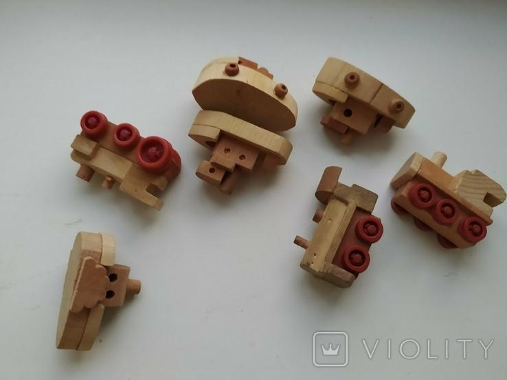 Киндер деревянные игрушки 90е, фото №3