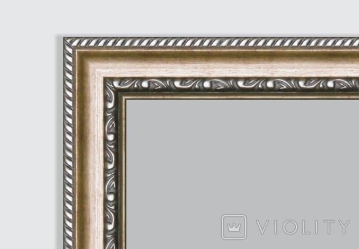 Картина, Біленька хатка, 25х30 см. Живопис на полотні, фото №8