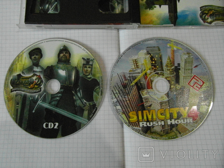 Диск-игра для компютера.№27.цена за 2 шт., фото №5