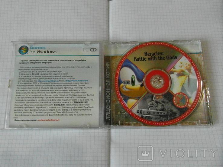 Диск-игра для компютера.№28, фото №4