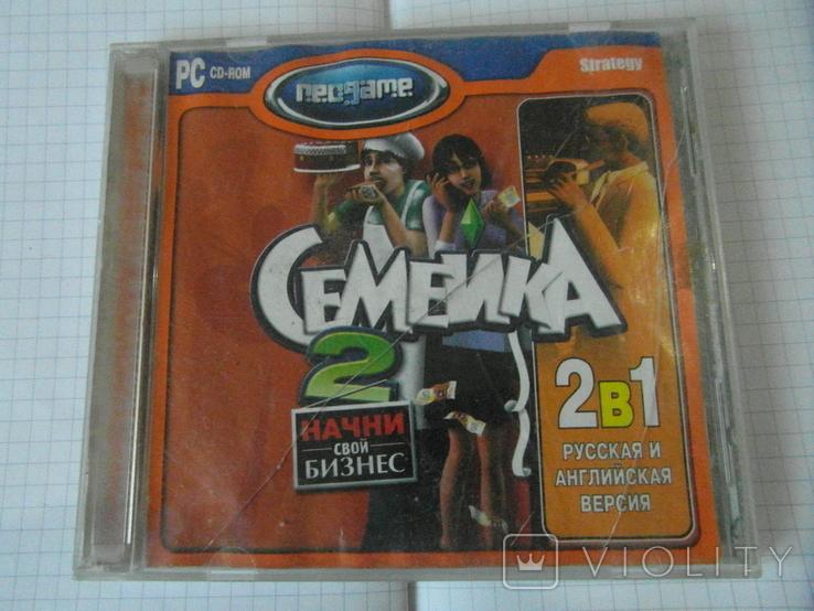 Диск-игра для компютера.№30.цена за 2 шт., фото №2