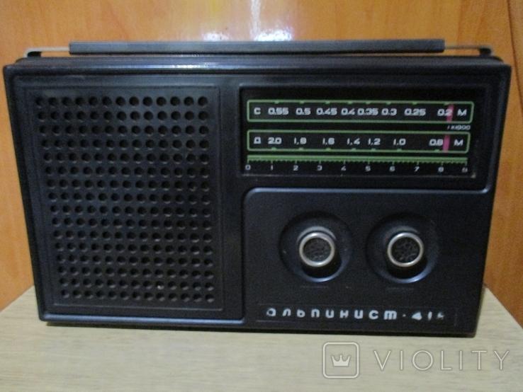 Радиоприёмник Альпинист 418 ссср, фото №2
