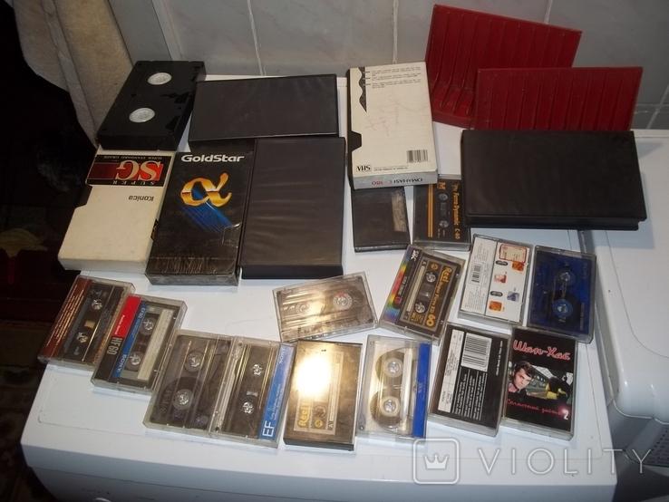 Видеокассеты и аудиокассеты, фото №2