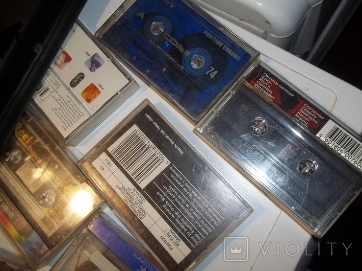 Видеокассеты и аудиокассеты, фото №7