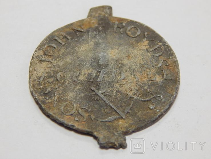 Свинцовый жетон Европы, фото №3