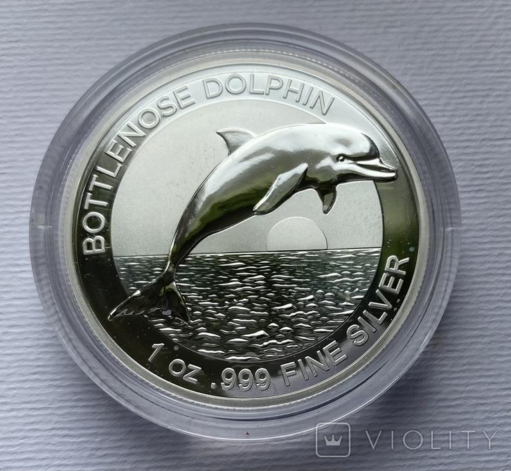 1-й в серии Дельфин Австралии 2019, фото №2