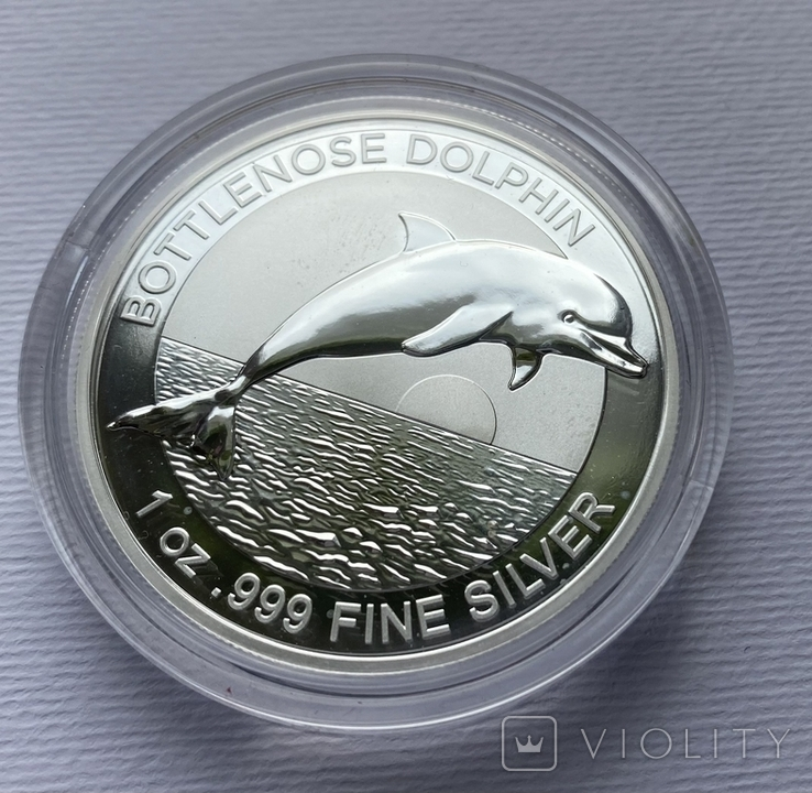 1-й в серии Дельфин Австралии 2019, фото №4