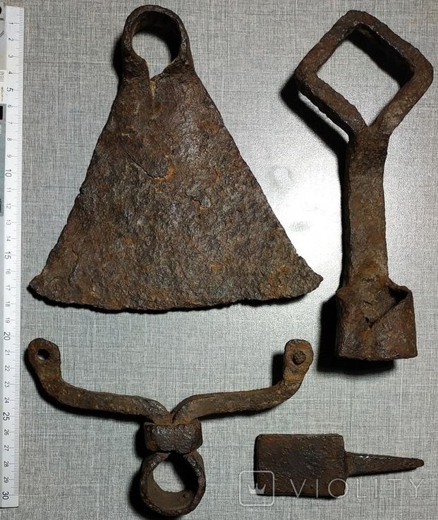 Мотыга , ключ , наковальня , тяпка ., фото №3