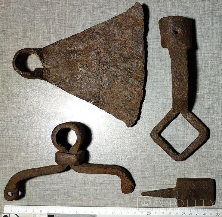 Мотыга , ключ , наковальня , тяпка ., фото №2