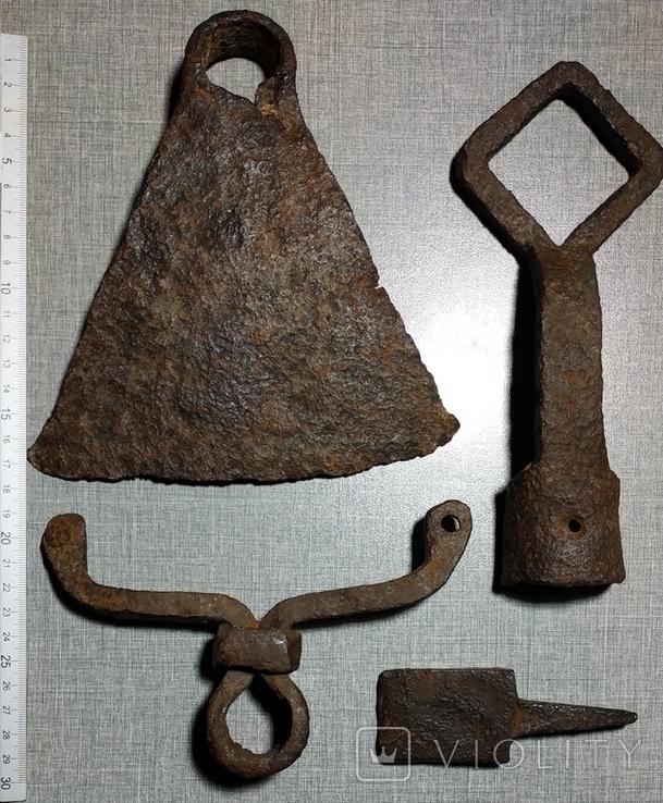 Мотыга , ключ , наковальня , тяпка ., фото №5