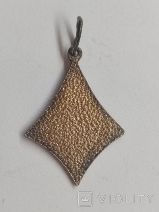 Кулон серебро 875 времён СССР, фото №5