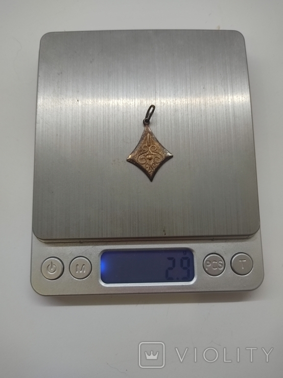 Кулон серебро 875 времён СССР, фото №8