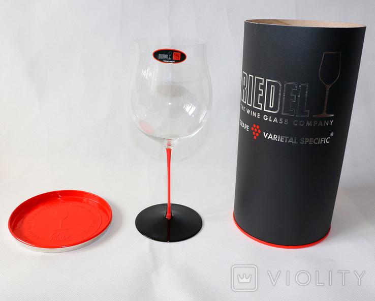 Хрустальный бокал для красного вина Burgundy Grand Cru ручной работы, фото №2