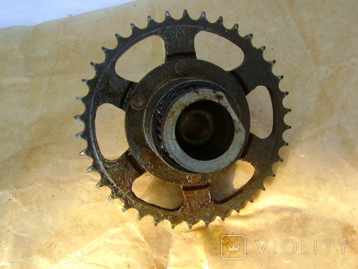 Мотороллер Тулица звездочка колеса защита цепи, фото №3