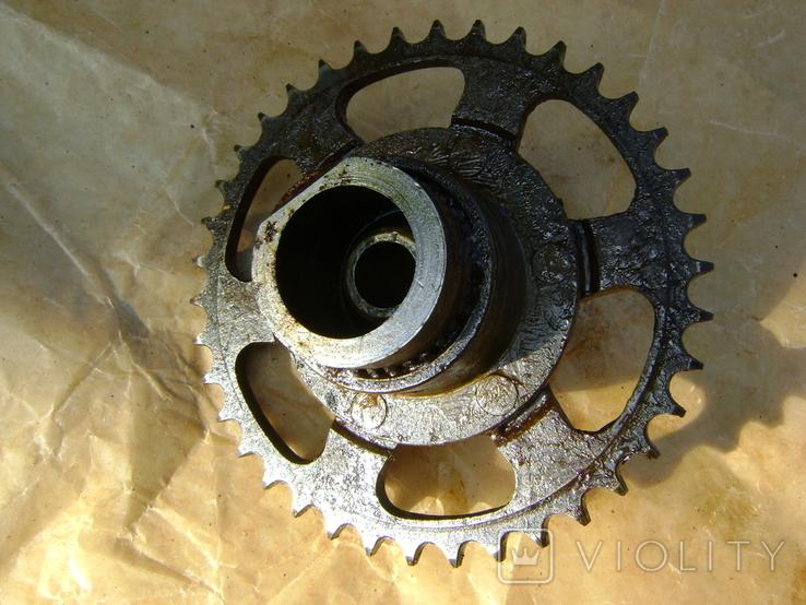 Мотороллер Тулица звездочка колеса защита цепи, фото №7