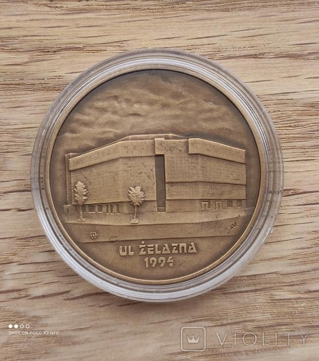 Медаль Монетного двора Польши ul. Bielaska elazna, фото №3