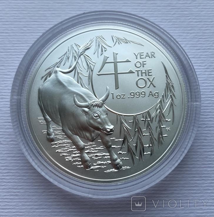 Новинка 2021 Год Быка Лунар от Royal Australian Mint, фото №2