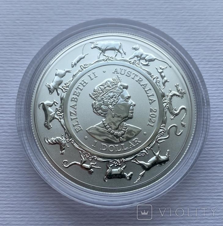 Новинка 2021 Год Быка Лунар от Royal Australian Mint, фото №8