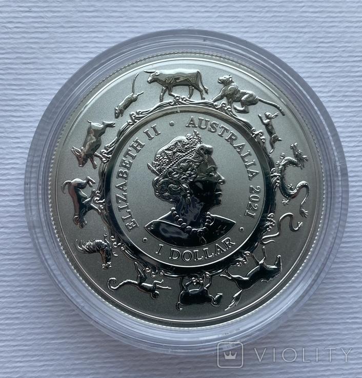 Новинка 2021 Год Быка Лунар от Royal Australian Mint, фото №10