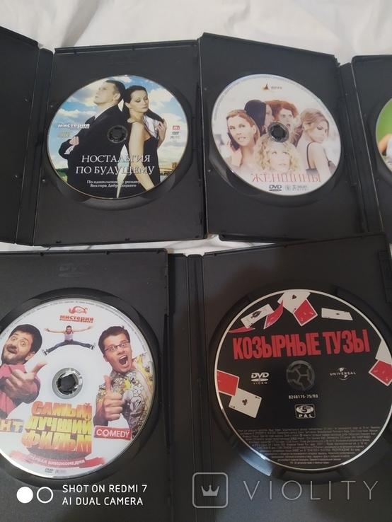 8 дисков с фильмами, фото №5