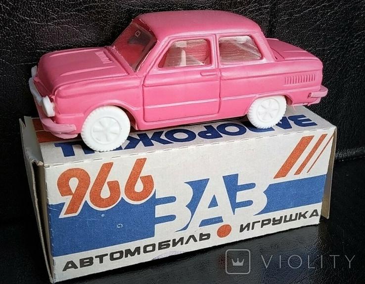 Запорожец ЗАЗ машинка модель 1:43, фото №2
