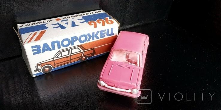 Машинка 1:43 Запорожец ЗАЗ 968 или 966 модель, фото №5