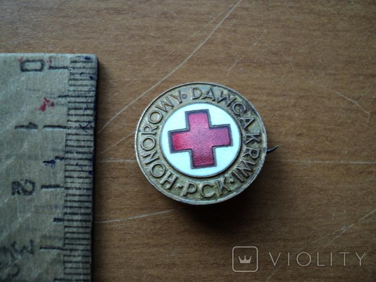 """Знак """"Красный крест"""", фото №2"""