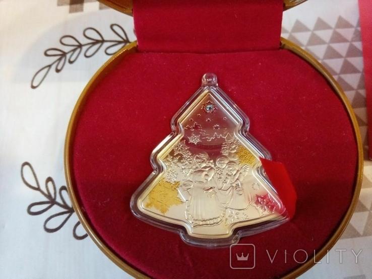 """Ниуэ 2 доллара 2014 """"Рождественская елка"""", фото №5"""
