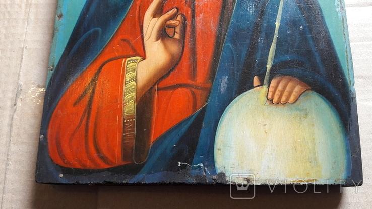 Икона Иисус Христос. ( дерево), фото №3